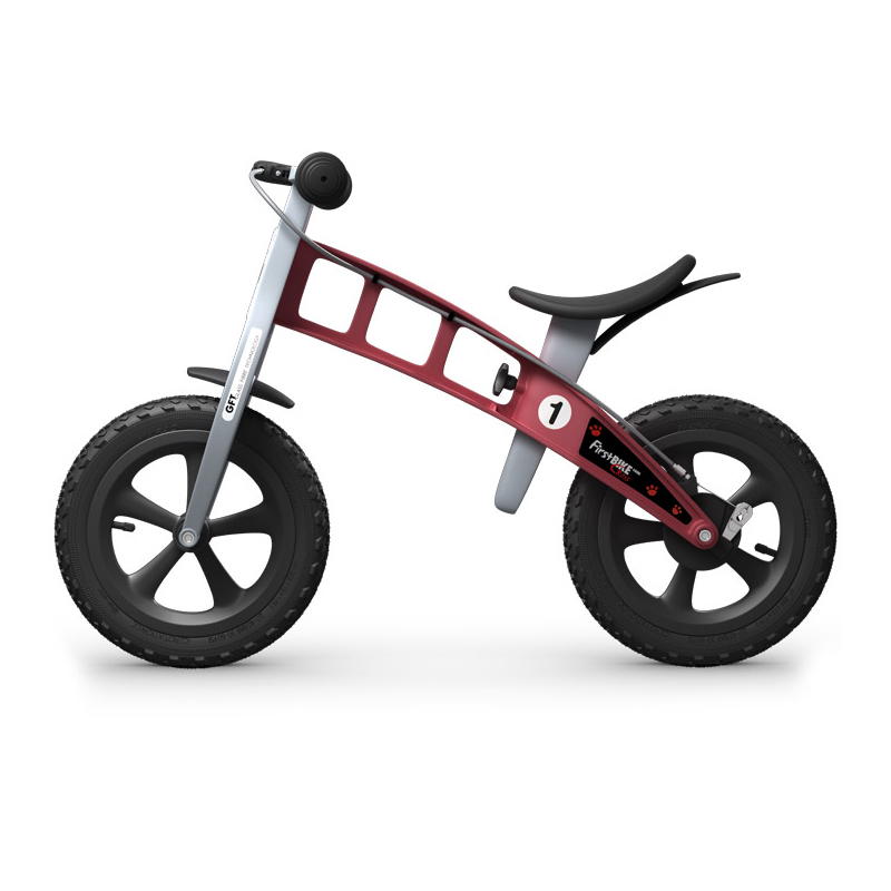 Беговел FirstBIKE Cross red 1