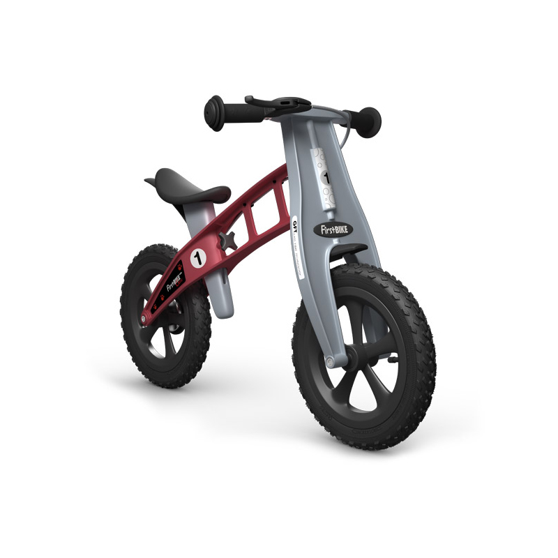 Беговел FirstBIKE Cross red 3