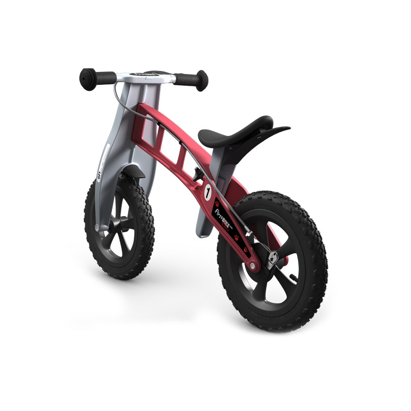 Беговел FirstBIKE Cross red 4