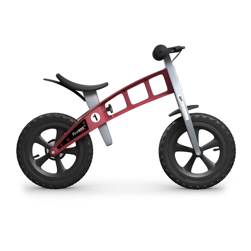 Беговел FirstBIKE Cross red 5