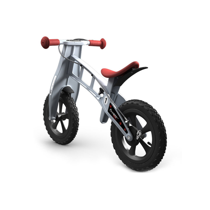 Беговел FirstBIKE Cross silver 1