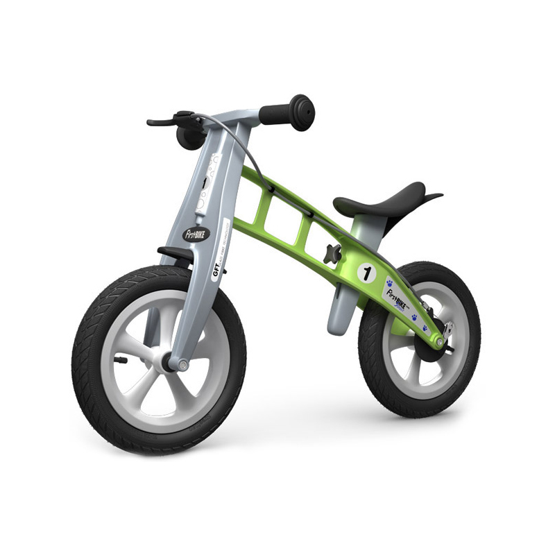 Беговел FirstBIKE Street green