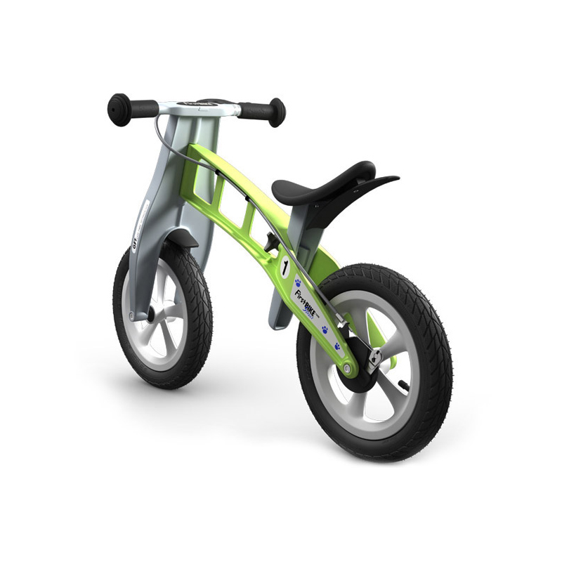 Беговел FirstBIKE Street green 1