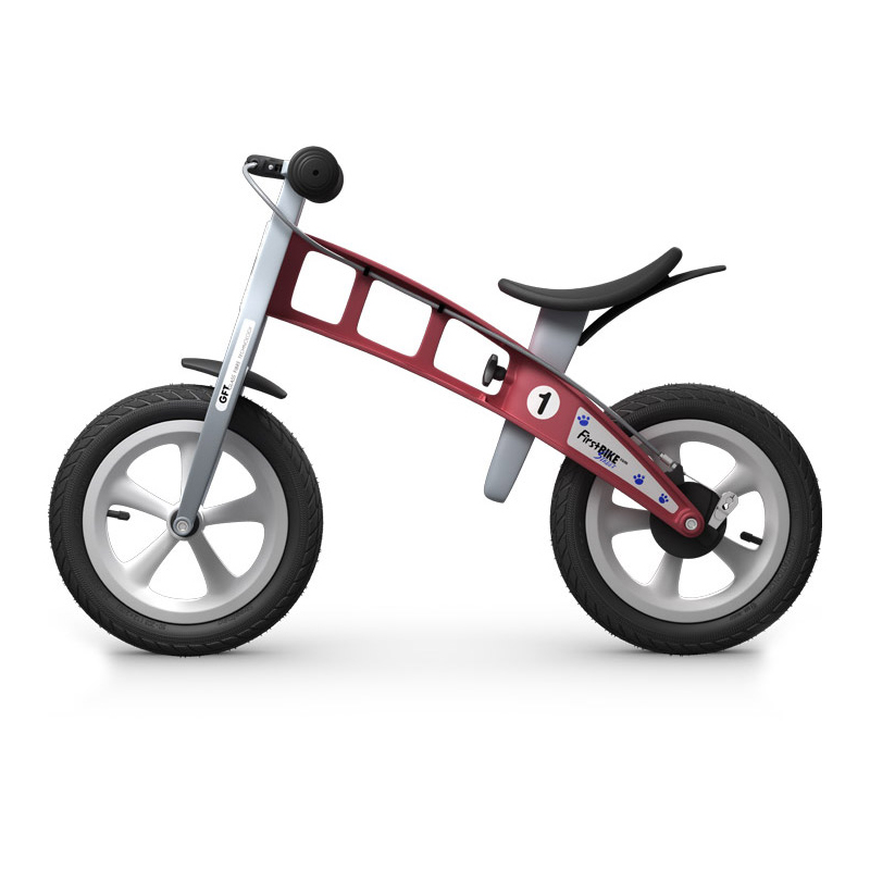 Беговел FirstBIKE Street red 2