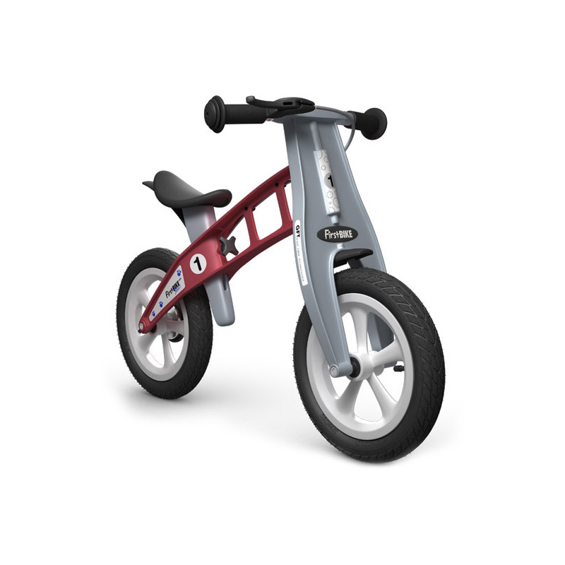 Беговел FirstBIKE Street red 3