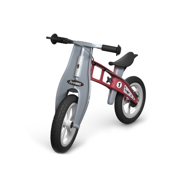 Беговел FirstBIKE Street red 4