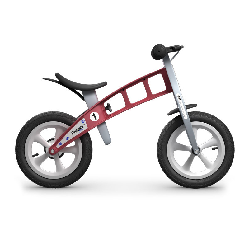 Беговел FirstBIKE Street red 5