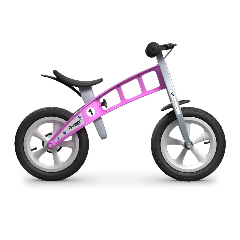 Беговел FirstBIKE Street pink 4