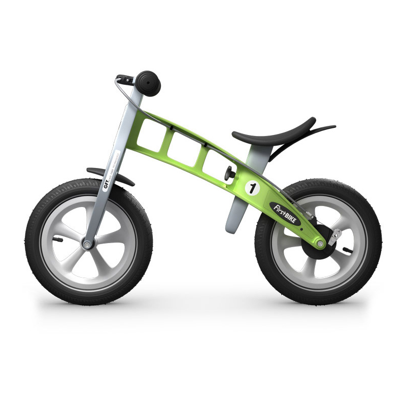 Беговел FirstBIKE Racing green 1