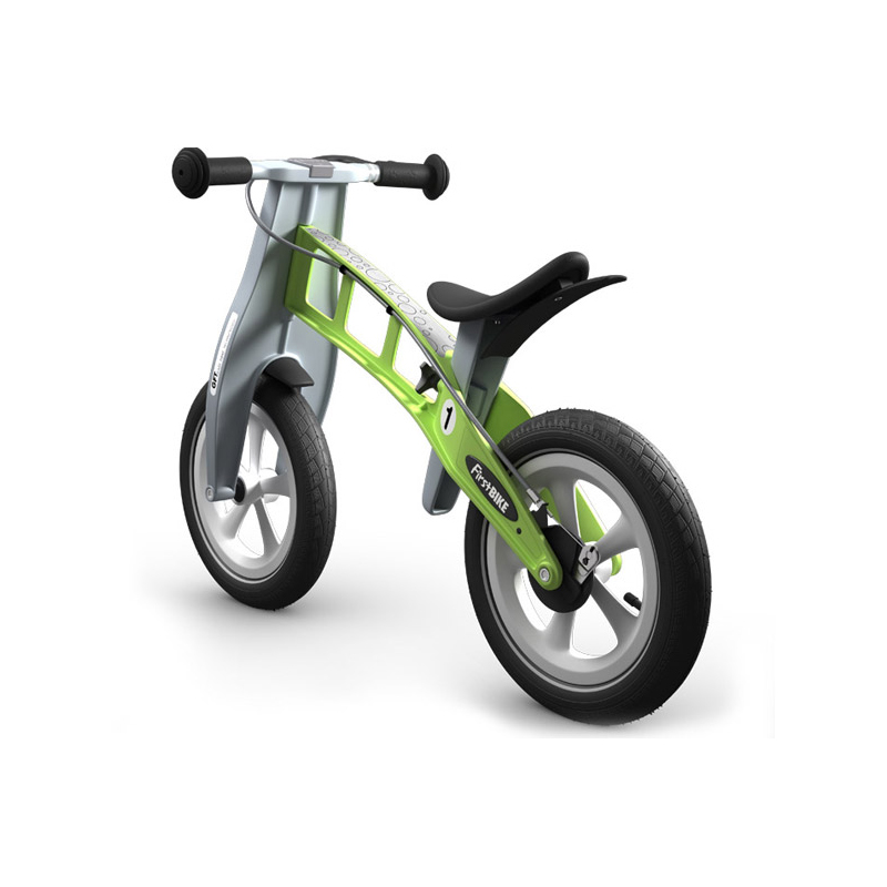 Беговел FirstBIKE Racing green 2