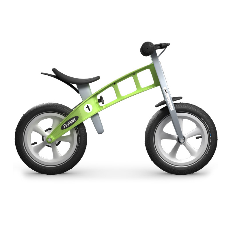 Беговел FirstBIKE Racing green 5