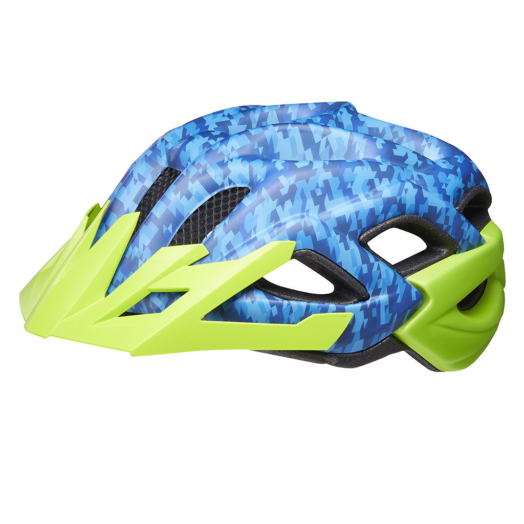 Детский шлем KED Status Junior Camouflage Blue Green M